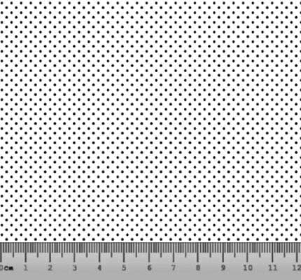 Bolinha Micro Desenho 2198 var12 Branco com Preto