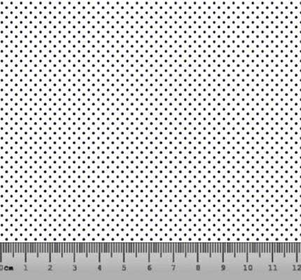 Bolinha Micro Desenho 2199 Var02 Branca com Marinho