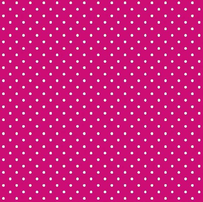 Bolinha Pequena Desenho 222tk-pink com branco