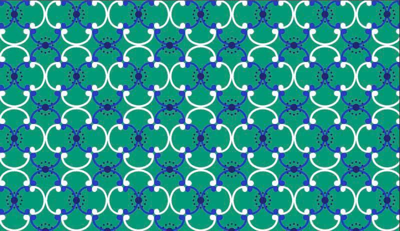 Azulejo Des. 2450 var02- f/ Verde