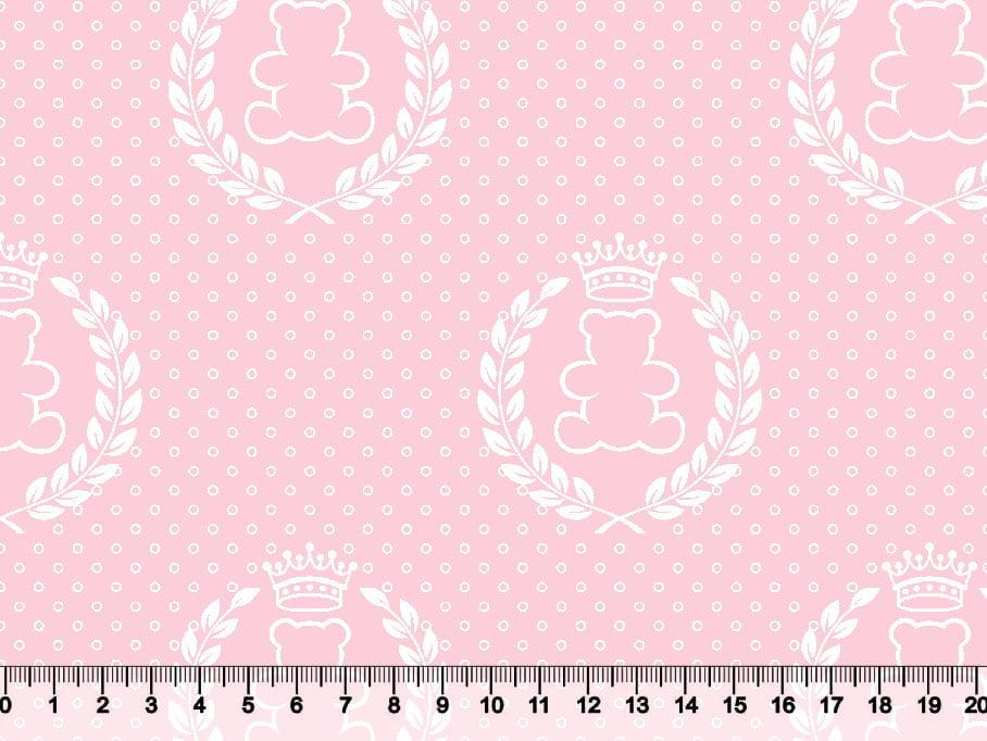 Ursinho Coroa Fundo Rosa Des 2644 Var02