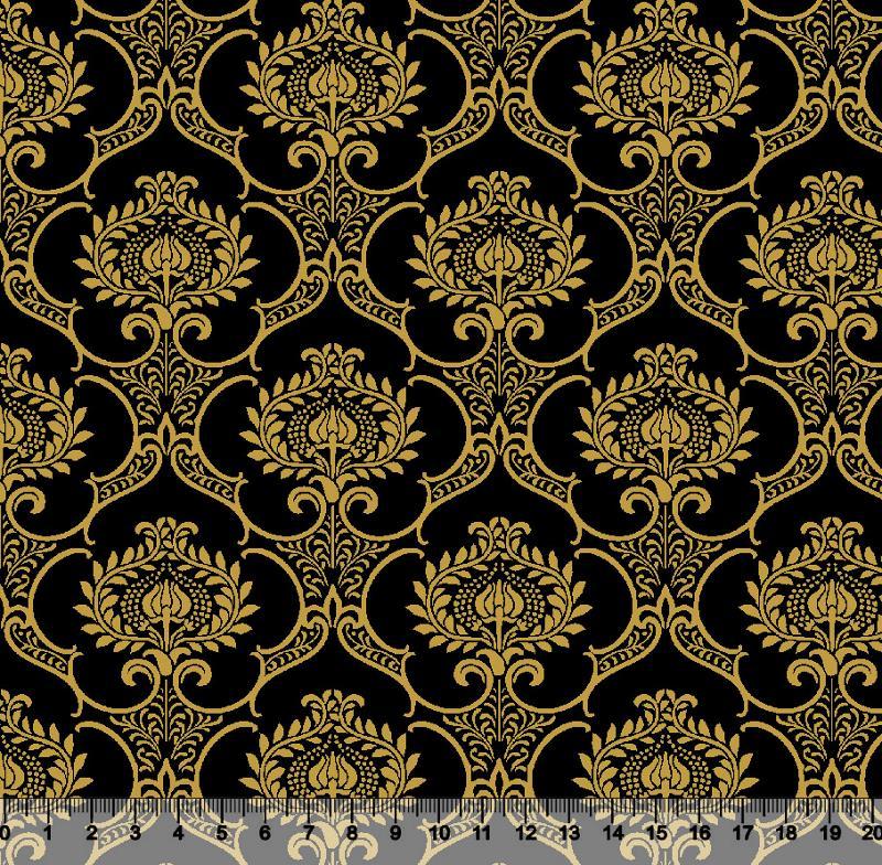 Arabesco Dourado Des. 2976 var01