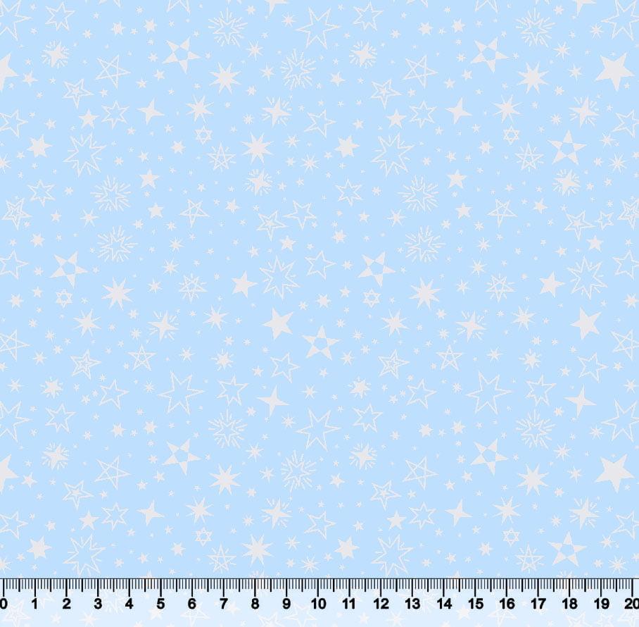 Estrelas Diversas Des 3188 Var02 -  fundo Azul BB