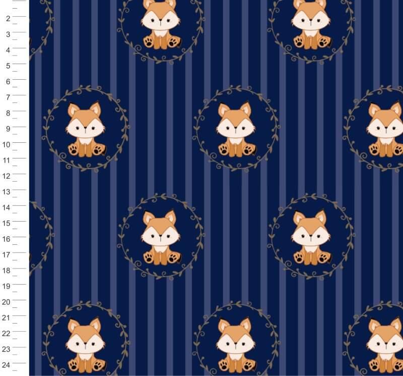 Raposinha Marinho com Azul Listrada Campana -  34853 Var04