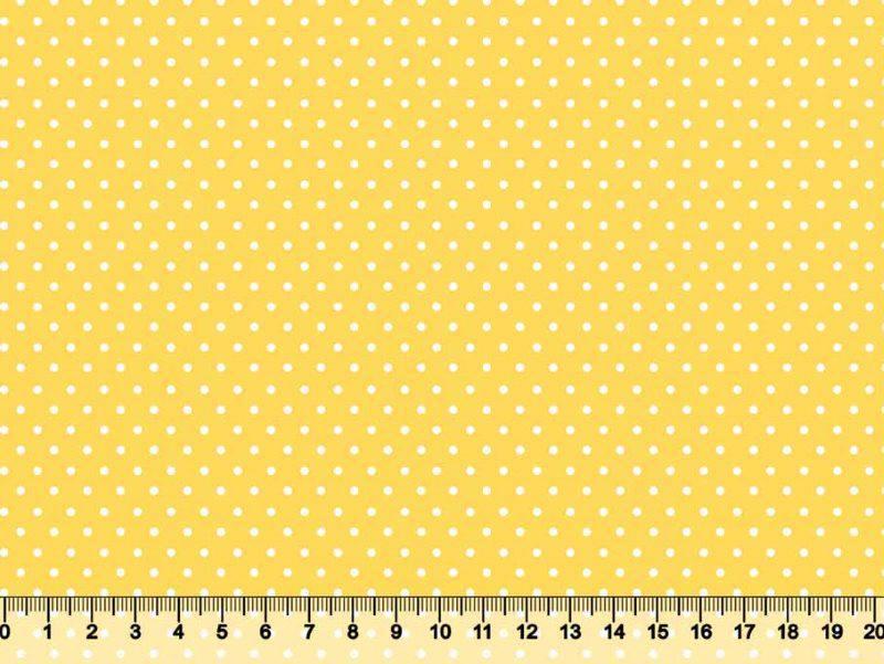 Bolinha Pequena Desenho 370pft - Fundo Amarelo