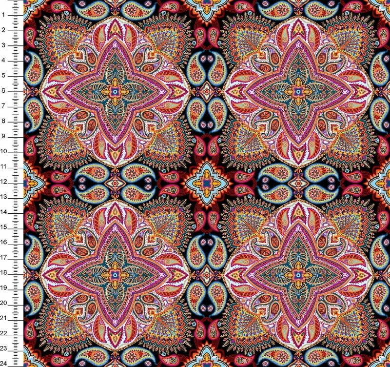 Mandalas Fundo Preto Des 9100e2204