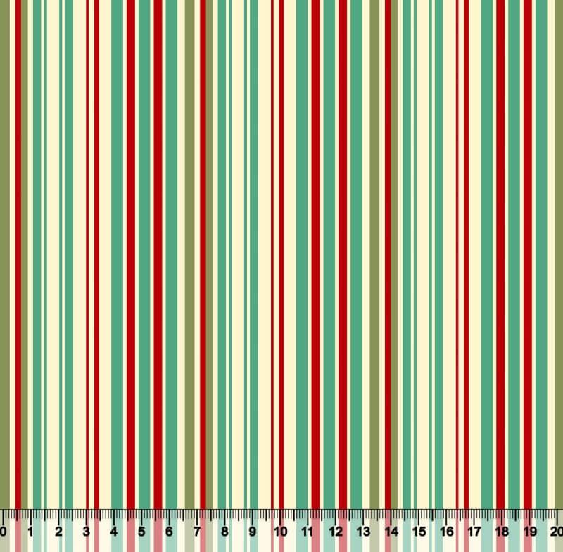 Listrado Colorido Desenho 5179 Var01 - Verde