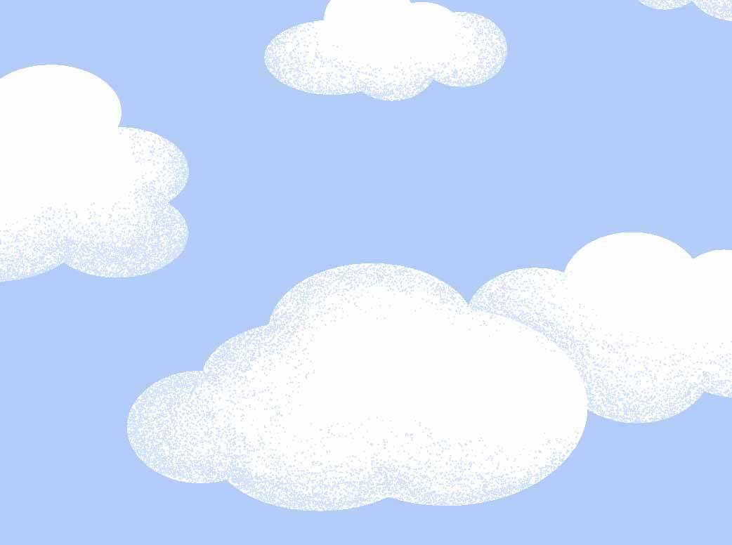 Nuvem Azul Desenho 5198 var01