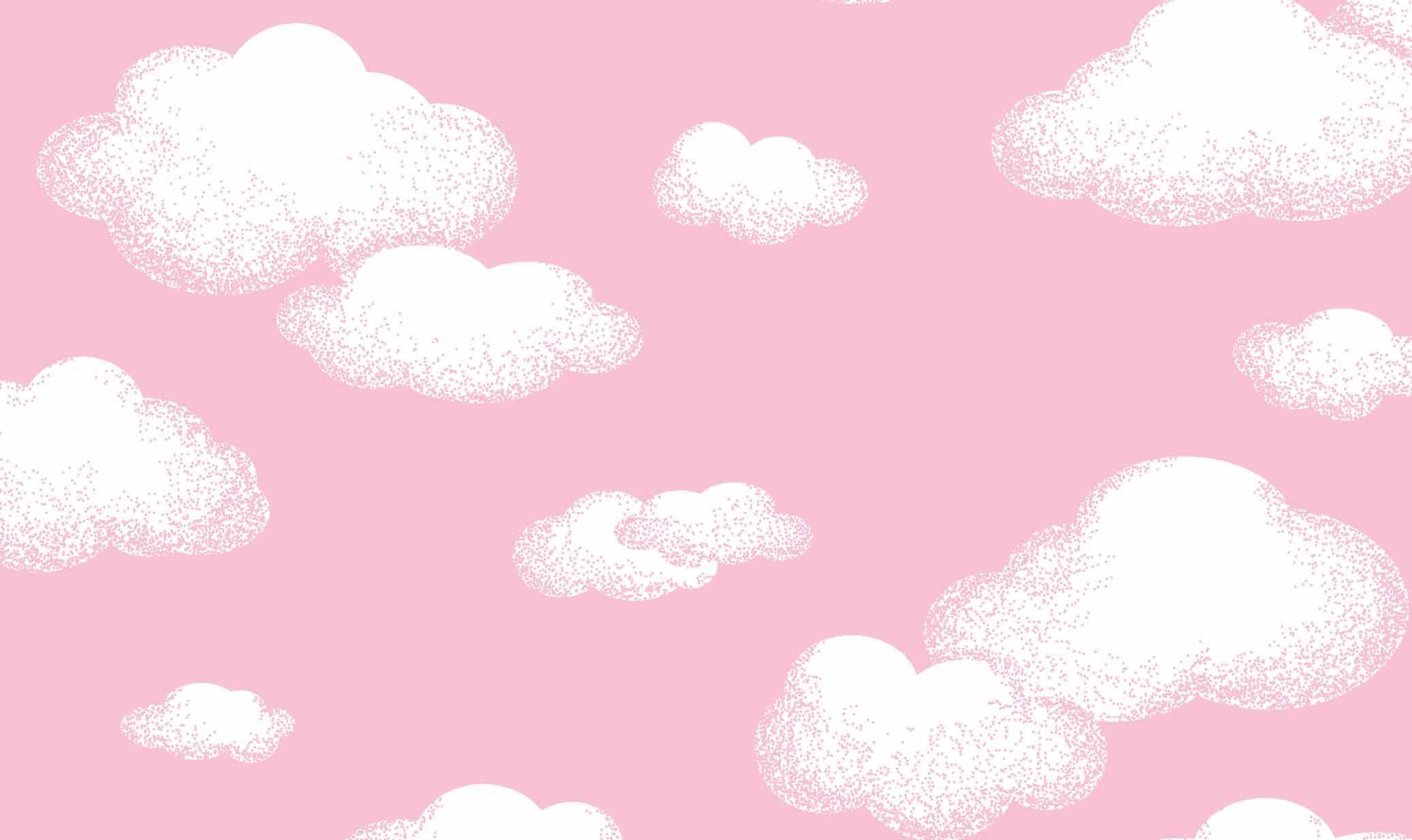 Nuvem Rosa Desenho 5198 var03