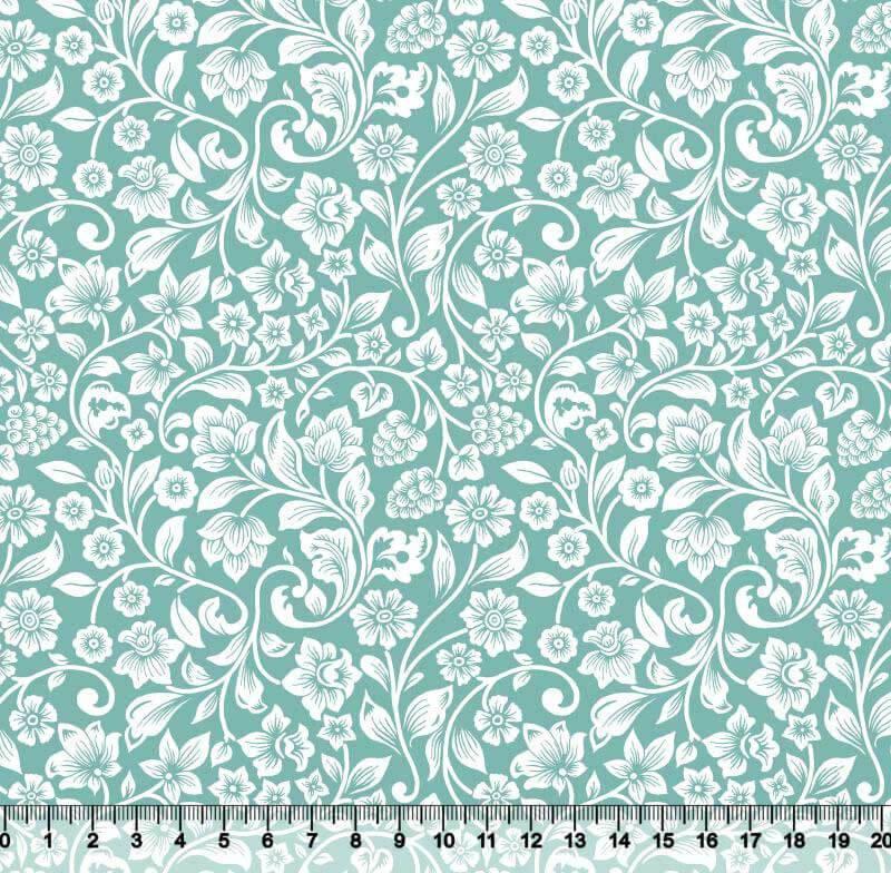 Floral Des. 5201 var26 - Tiffany - Fundo S01T