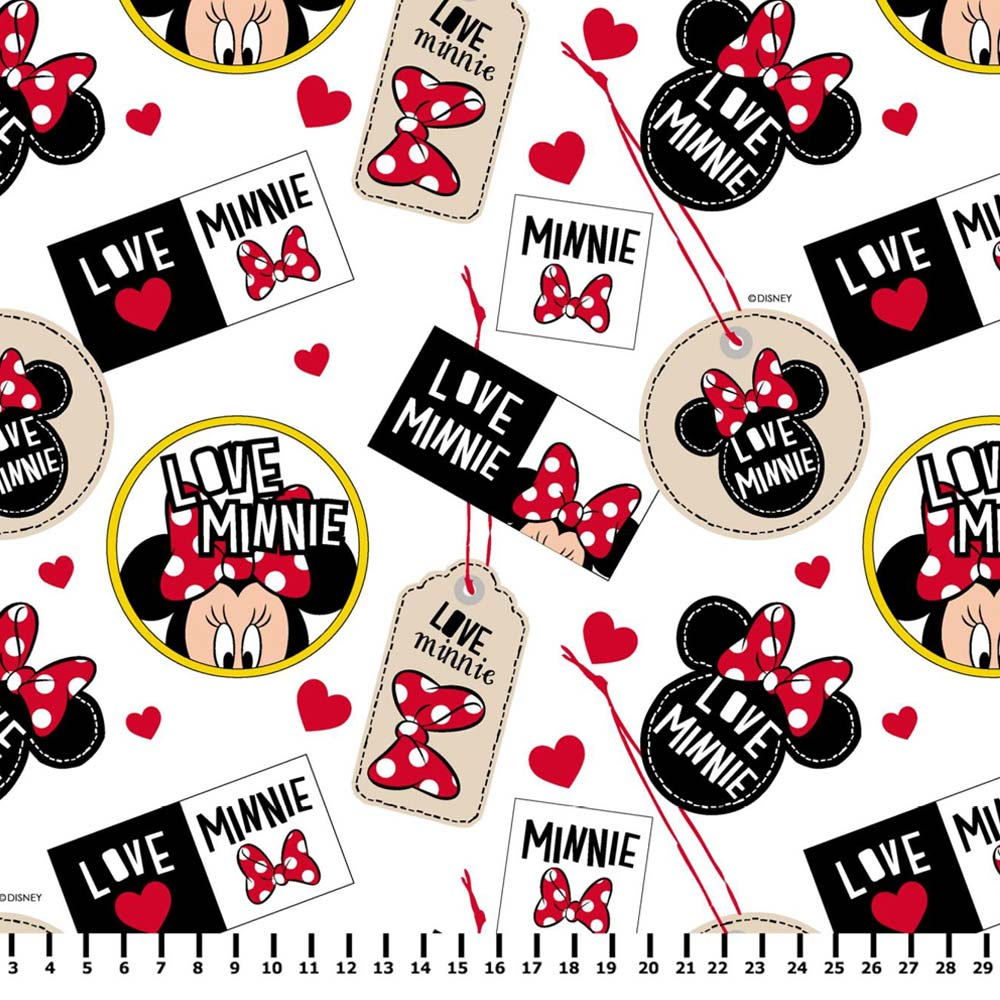 Minnie Tags Branco Disney MI004C01 - Fernando Maluhy
