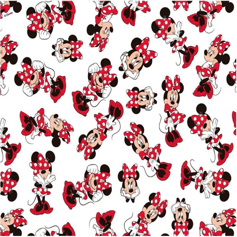 Minnie Laço Fundo Branco Disney MI010C01  - Fernando Maluhy
