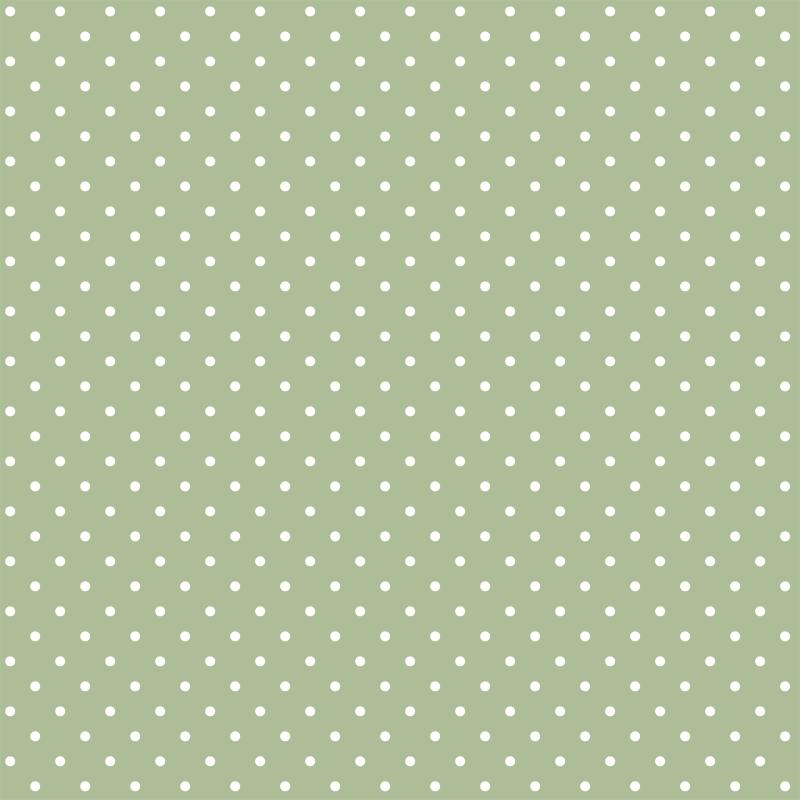 Bolinha Pequena Verde bebe com Branco Des p1001 var83
