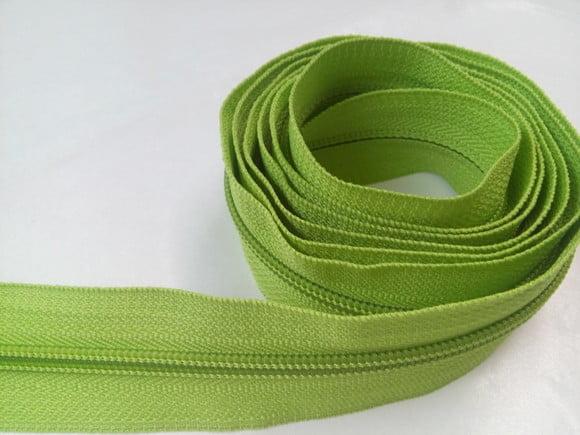 ziper n.5 Verde Pistache