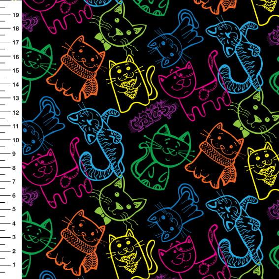 Gatos Neon Des 9100e2370