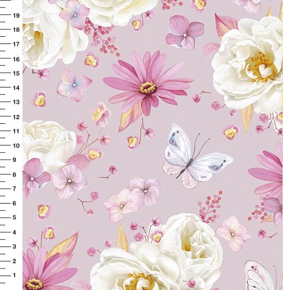 Rosa Branca Borboleta 9100E1629