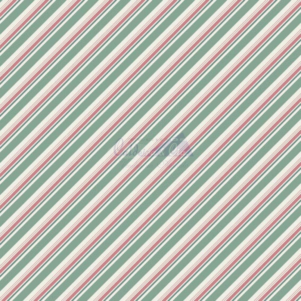 Diagonal Bianca cor 05 (Verde Vintage)