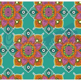 Mandala 2 cor 01 (Tiffany)