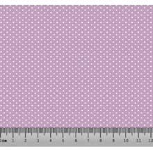 Bolinha Micro Desenho 2198 var06 Lilás com Branco