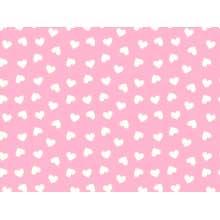 Coração Desenho 2339 var14 fundo Rosa bebe