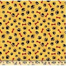 Patinha osso Des. 2509 var03 - Amarelo
