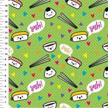 Sushi Desenho 9100e1244 - Meia Tigela
