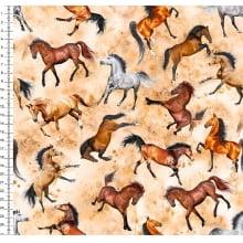 Cavalos  Des 42093 var01 -Digital Bege Poeira