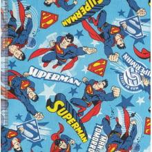 Superman Des 12A- Fundo Azul
