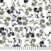Mickey Preto e Branco Disney MK006C01 - Fernando Maluhy