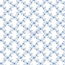 Floral Valentina cor 08 (Azul)