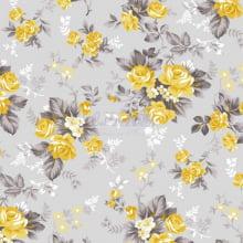 Floral Iris cor 17 (Amarelo)
