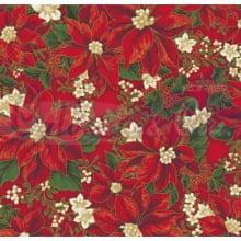 Natal Gold cor - 34 (vermelho) flores