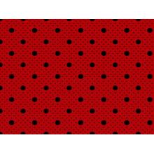 Bolinha Bolão Desenho 2259 var08 Vermelho com Preto