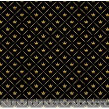 Coroa Losango Preto com Dourado Des 2830 Var01