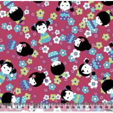 Boneca Kokeshi Des5192 var01- rosa