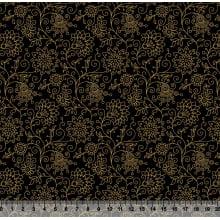 Floral Dourado Des 3617 Var01