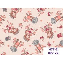 Menina Jardineira 477e827 Var02 fundo rosa bebe