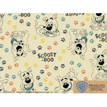 Scooby Doo Des 7 Var02 patinhas fundo amarelo