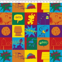 Snoopy quadrinhos coloridos sn026 c01