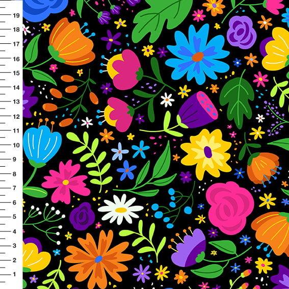 Floral Colors Meia Tigela 9100E4650