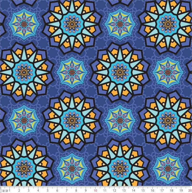 Mandalas Fundo Azul 9100e4715