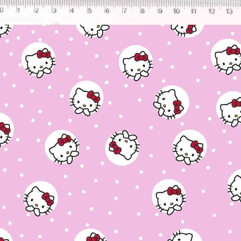 Hello Kitty HK027C01 fundo rosa