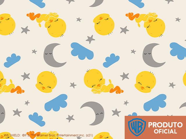 Looney Tunes Piu Piu Baby Soninho 10v01 - Fundo Offwhite