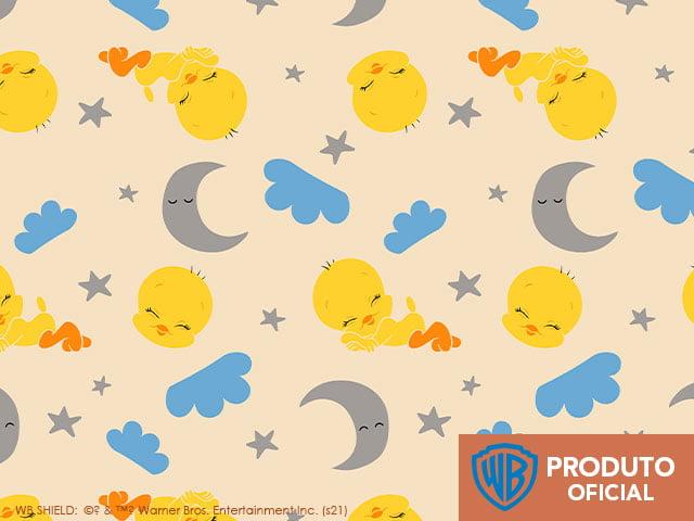 Looney Tunes Piu Piu Baby Soninho 10v02 - Fundo Amarelo