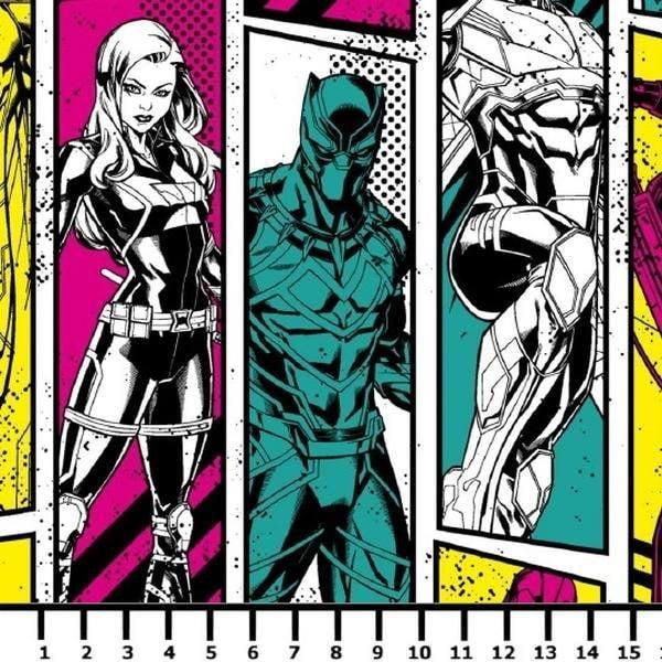Vingadores Marvel Cores - Av014c01 - Fernando Maluhy