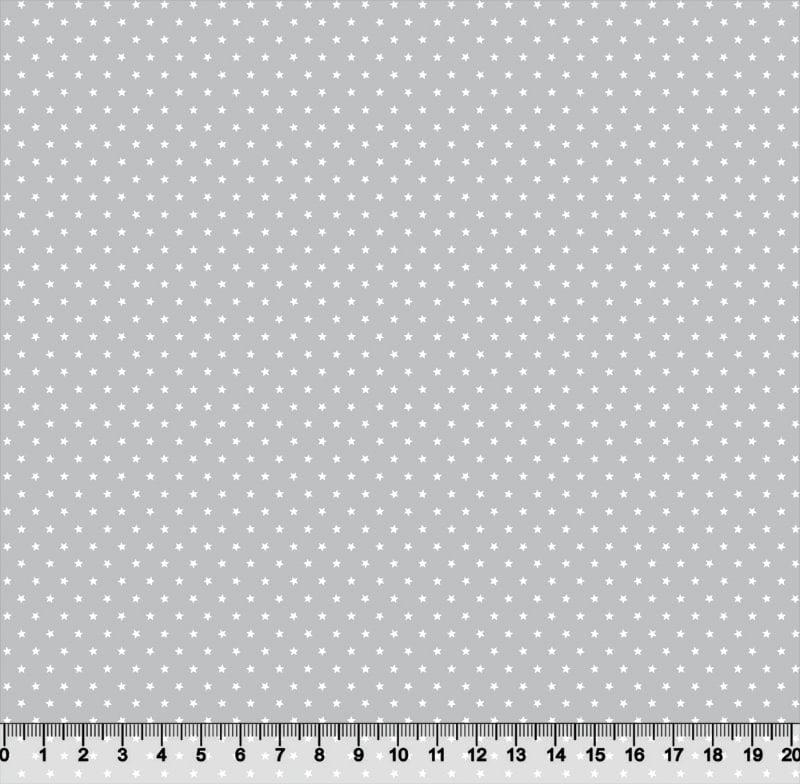 Mini Estrelas Fundo Cinza 3777 Var05