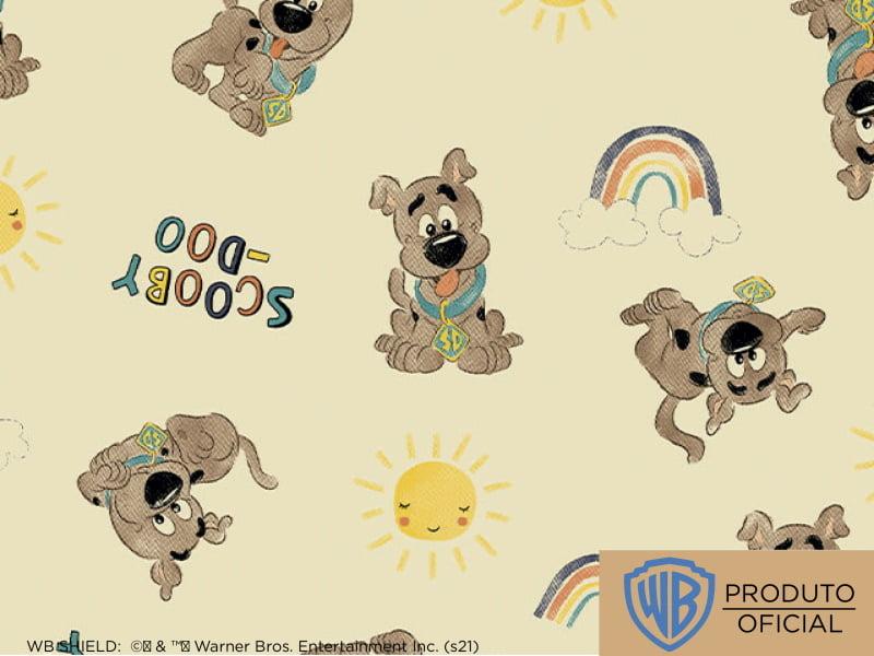 Scooby Doo Des 5 Var02 arco iris fundo amarelo